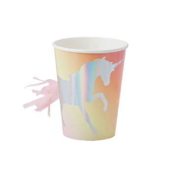 Make a Wish Unicorn Cups